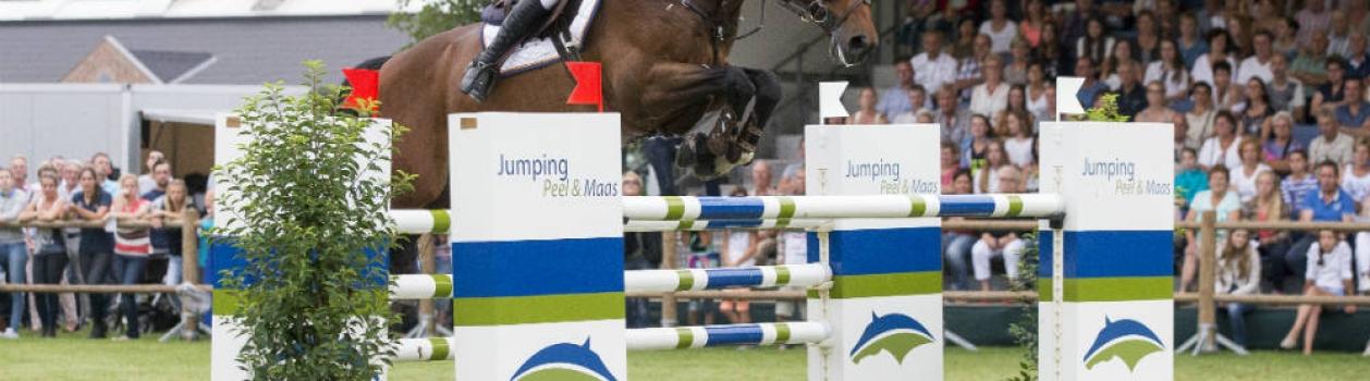 Lammers wint het Masterspringen van Peel & Maas