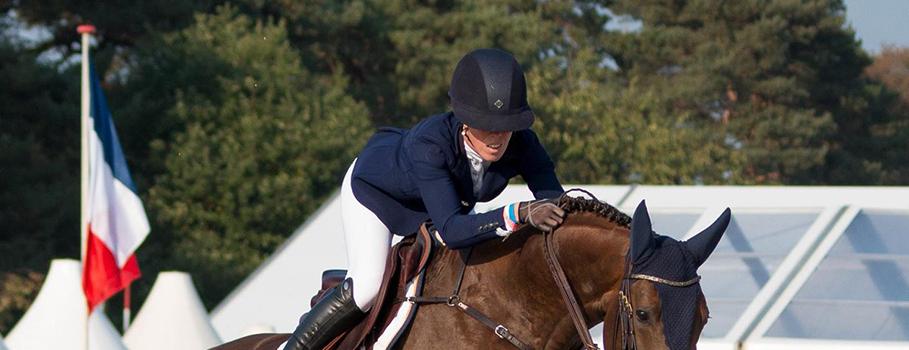 Joy Lammers beste Nederlander op het WK jonge springpaarden